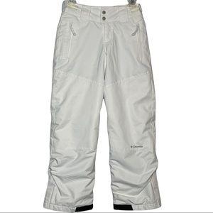 Columbia Youth Ski Snow Pants - Omni-Shield Adjustable Pants Size 10/12
